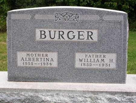 BURGER, WILLIAM H. - Madison County, Iowa | WILLIAM H. BURGER