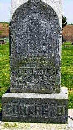 BURKHEAD, JOSEPH R. - Madison County, Iowa | JOSEPH R. BURKHEAD
