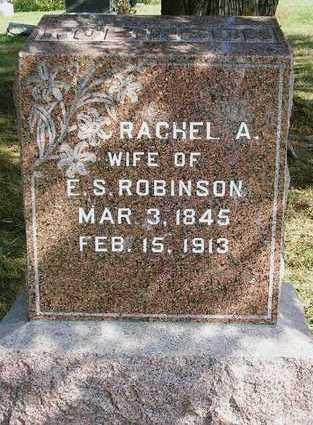 ROBINSON, RACHEL A. - Madison County, Iowa | RACHEL A. ROBINSON