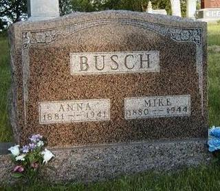 BUSCH, SARAH ANNA - Madison County, Iowa | SARAH ANNA BUSCH