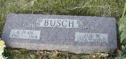 BUSCH, JOSEPH WILFORD - Madison County, Iowa | JOSEPH WILFORD BUSCH