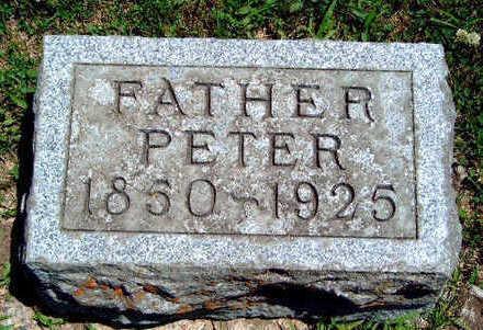 BUSCH, PETER - Madison County, Iowa | PETER BUSCH