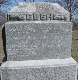 BUSH, HENRY - Madison County, Iowa | HENRY BUSH