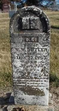 BUTLER, SARAH E. - Madison County, Iowa | SARAH E. BUTLER
