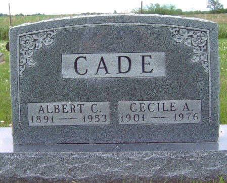 CADE, ALBERT CECIL - Madison County, Iowa | ALBERT CECIL CADE