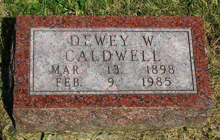 CALDWELL, DEWEY WAINWRIGHT - Madison County, Iowa | DEWEY WAINWRIGHT CALDWELL