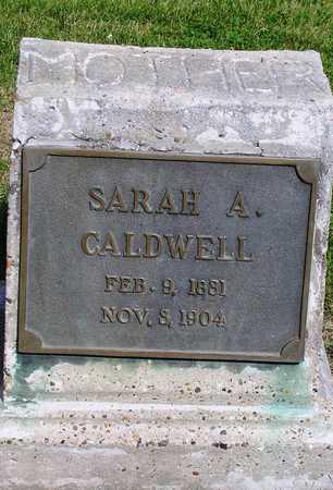 CALDWELL, SARAH ANN - Madison County, Iowa | SARAH ANN CALDWELL