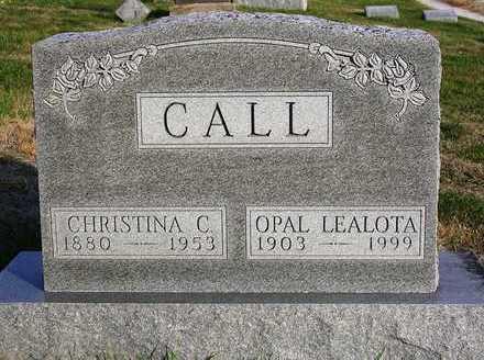 CALL, OPAL LEALOTA - Madison County, Iowa | OPAL LEALOTA CALL