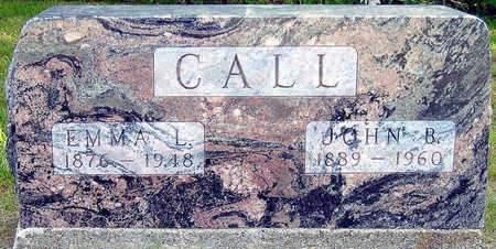 CALL, EMMA L. - Madison County, Iowa | EMMA L. CALL