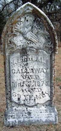 CALLAWAY, ABRAHAM - Madison County, Iowa | ABRAHAM CALLAWAY