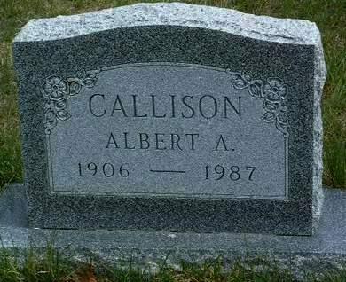 CALLISON, ALBERT ANDREW - Madison County, Iowa   ALBERT ANDREW CALLISON