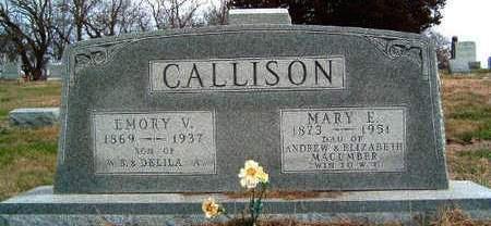 CALLISON, EMORY VICTOR - Madison County, Iowa | EMORY VICTOR CALLISON