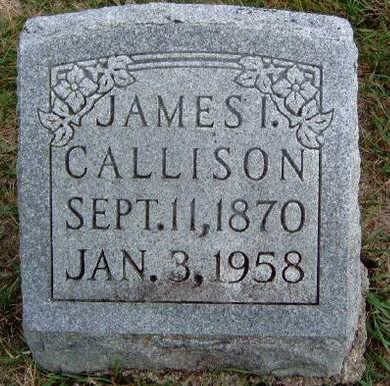 CALLISON, JAMES ISAAC - Madison County, Iowa | JAMES ISAAC CALLISON