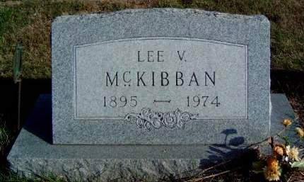MCKIBBAN, LEE VINCENT - Madison County, Iowa | LEE VINCENT MCKIBBAN