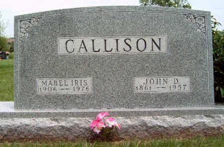 CALLISON, MABEL IRIS - Madison County, Iowa | MABEL IRIS CALLISON