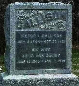CALLISON, VICTOR LAIZURE - Madison County, Iowa | VICTOR LAIZURE CALLISON