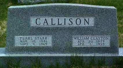 CALLISON, PEARL - Madison County, Iowa | PEARL CALLISON