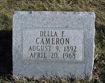 CAMERON, ENDELLA FRANCES  (DELLA) - Madison County, Iowa | ENDELLA FRANCES  (DELLA) CAMERON
