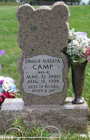 CAMP, LINNEA ALBERTA - Madison County, Iowa   LINNEA ALBERTA CAMP