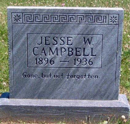 CAMPBELL, JESSE WILSON - Madison County, Iowa | JESSE WILSON CAMPBELL