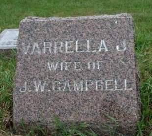 CAMPBELL, VARELLA J. - Madison County, Iowa | VARELLA J. CAMPBELL