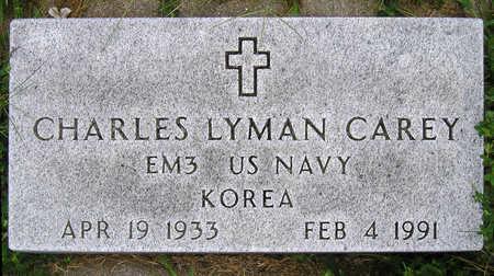 CAREY, CHARLES LYMAN - Madison County, Iowa | CHARLES LYMAN CAREY