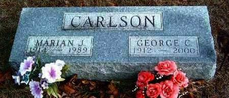 CARLSON, GEORGE C. - Madison County, Iowa | GEORGE C. CARLSON
