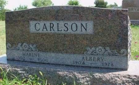 CARLSON, GUSTAF ALBERT - Madison County, Iowa | GUSTAF ALBERT CARLSON