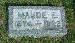 CARMAN, MAUDE E. - Madison County, Iowa | MAUDE E. CARMAN
