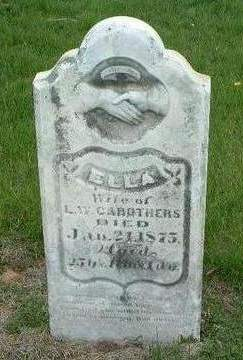 CAROTHERS, ELLA - Madison County, Iowa   ELLA CAROTHERS
