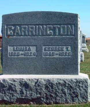 CARRINGTON, GEORGE T. - Madison County, Iowa | GEORGE T. CARRINGTON