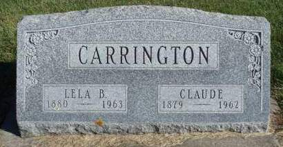 CARRINGTON, CLAUDE A. - Madison County, Iowa | CLAUDE A. CARRINGTON