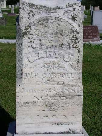 CARROLL, MARY JANE - Madison County, Iowa | MARY JANE CARROLL