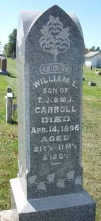 CARROLL, WILLIAM L - Madison County, Iowa | WILLIAM L CARROLL