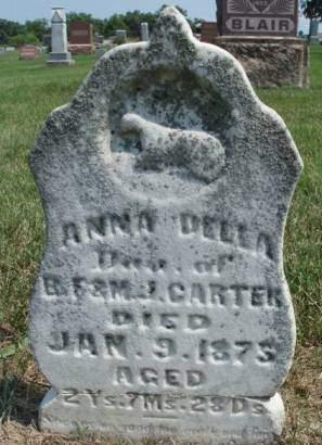CARTER, ANNA DELLA - Madison County, Iowa | ANNA DELLA CARTER