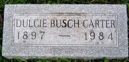 BUSCH, DULCIE VELMA - Madison County, Iowa | DULCIE VELMA BUSCH