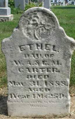 CARTER, ETHEL - Madison County, Iowa | ETHEL CARTER
