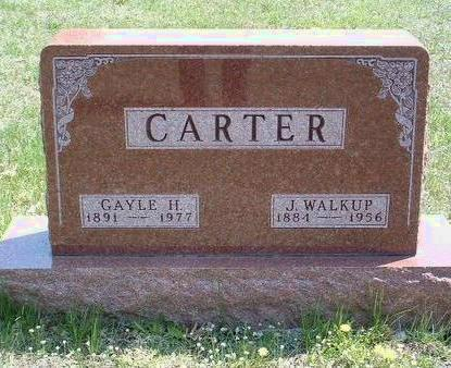 CARTER, JOHN WALKUP - Madison County, Iowa | JOHN WALKUP CARTER