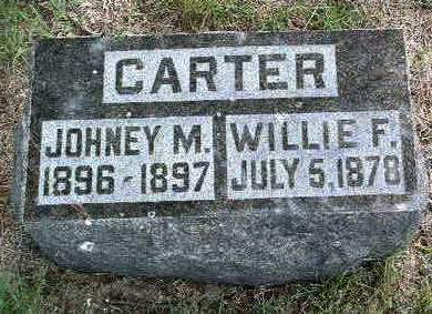 CARTER, WILLIE F. - Madison County, Iowa | WILLIE F. CARTER