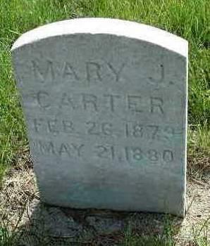 CARTER, MARY JANE - Madison County, Iowa   MARY JANE CARTER