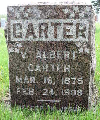 CARTER, VINCENT  ALBERT - Madison County, Iowa | VINCENT  ALBERT CARTER