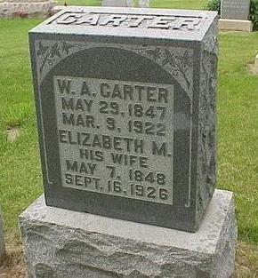 CARTER, WILLIAM ALEXANDER - Madison County, Iowa | WILLIAM ALEXANDER CARTER