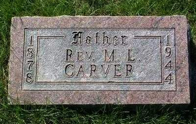 CARVER, MARTIN LUTHER (REV.) - Madison County, Iowa | MARTIN LUTHER (REV.) CARVER