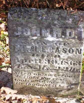 CASON, JOHN R. D. - Madison County, Iowa | JOHN R. D. CASON