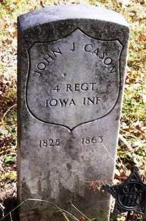 CASON, JOHN J. - Madison County, Iowa | JOHN J. CASON