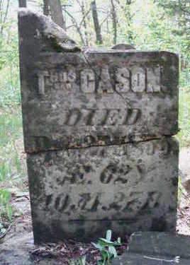 CASON, THOMAS TALBERT - Madison County, Iowa   THOMAS TALBERT CASON