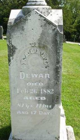DEWAR, RACHEL - Madison County, Iowa | RACHEL DEWAR