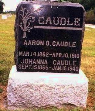 CAUDLE, JOHANNA - Madison County, Iowa | JOHANNA CAUDLE