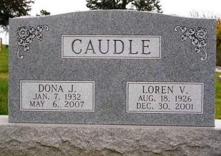 CAUDLE, LOREN VIRGIL - Madison County, Iowa | LOREN VIRGIL CAUDLE
