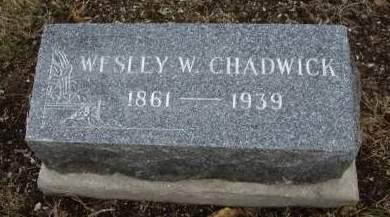 CHADWICK, WESLEY W. - Madison County, Iowa | WESLEY W. CHADWICK